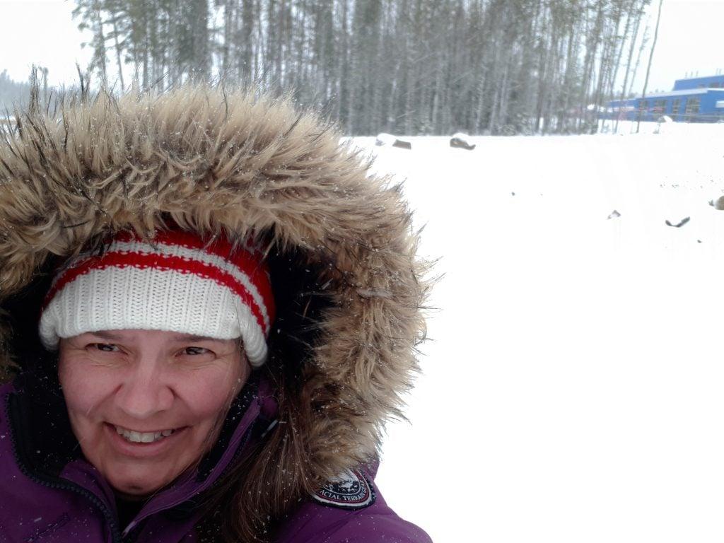 Debbie Experiences Snow Before Halloween