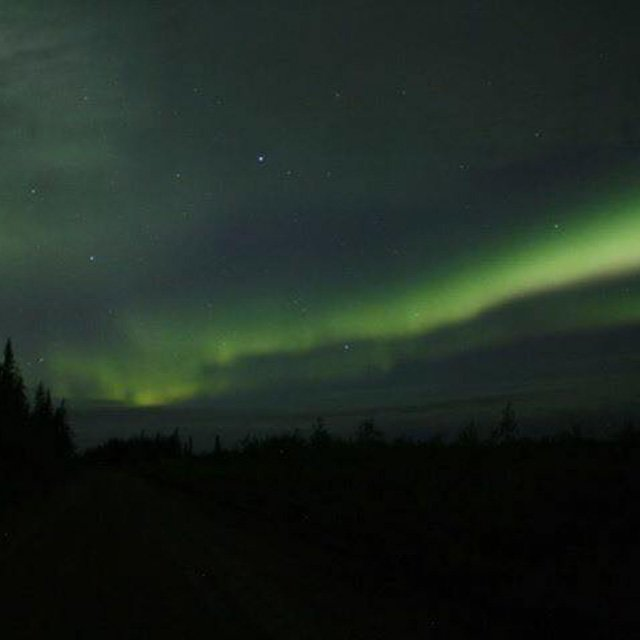 The northern lights as seen in Fort Severn First Nation