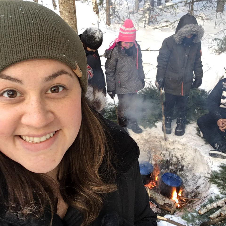 Emily McCartney-Maracle prioritises integrating local culture into her teaching