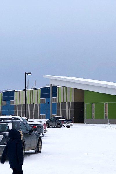 Eenchokay Birchstick School, Pikangikum First Nation