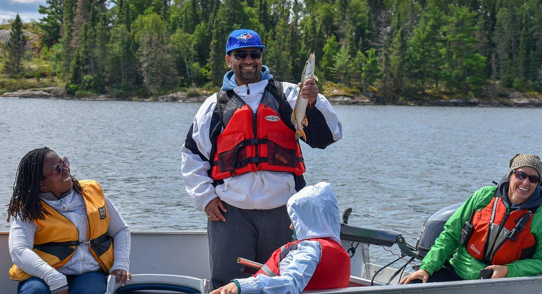 Jason Singh fishing