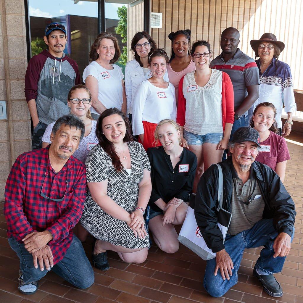 Sandy Lake teachers and community members, SEP 2016