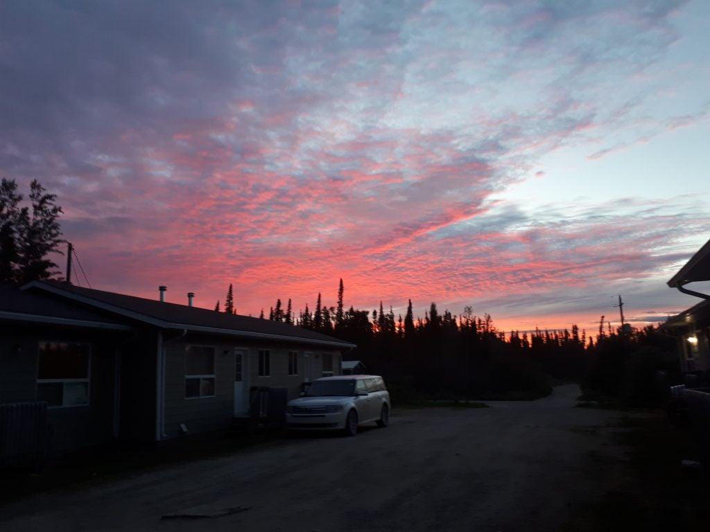Teacherage in Deer Lake First Nation