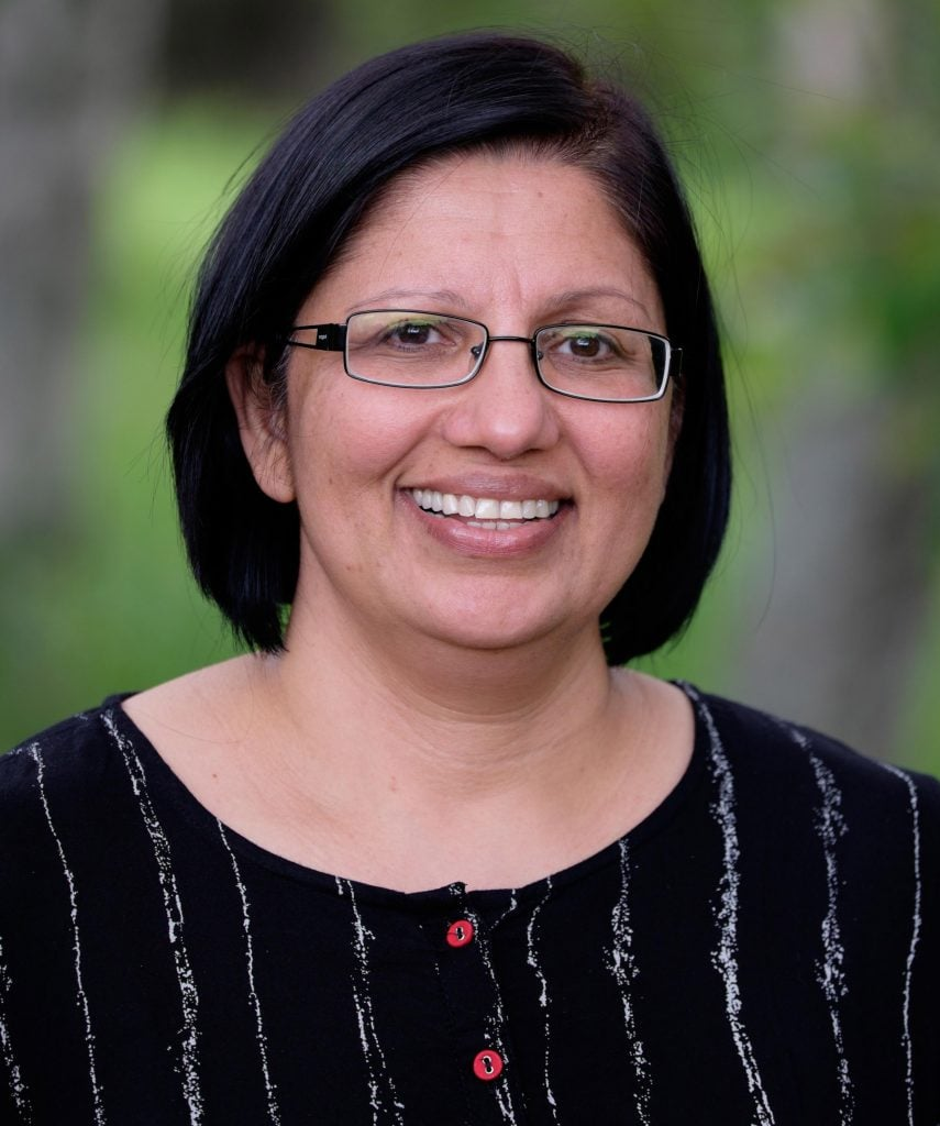 Headshot of Jaya Sharma, a Teach For Canada teacher