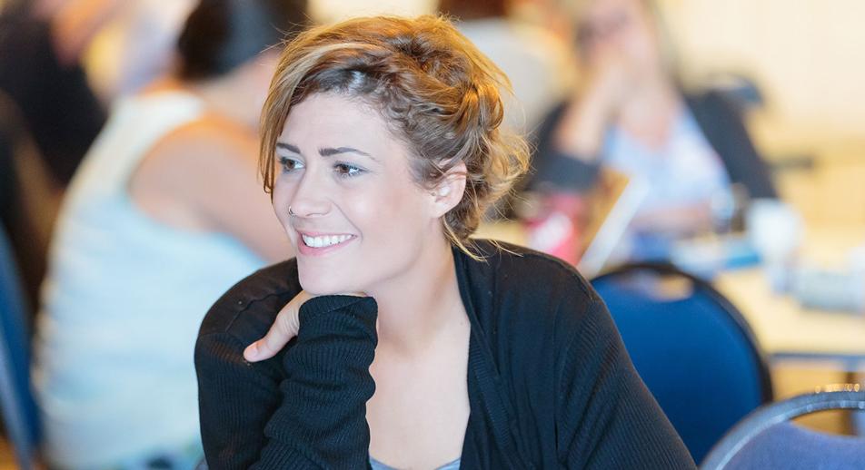 Kim Pratt at Teach For Canada's Summer Enrichment Program